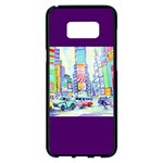 Time Square  Samsung Galaxy S8 Plus Black Seamless Case