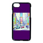 Time Square  Apple iPhone 8 Seamless Case (Black)