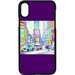 Time Square  Apple iPhone XS Seamless Case (Black)