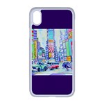 Time Square  Apple iPhone XR Seamless Case (White)