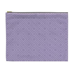 Simple Squares  Cosmetic Bag (xl) by TimelessFashion