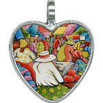 At The Shops  Heart Necklace