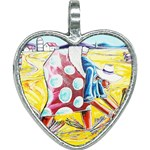 The Harvesters  Heart Necklace