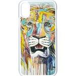 Lion  Apple iPhone XS Seamless Case (White)