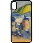 At the Beach  Apple iPhone X Seamless Case (Black)