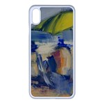 At the Beach  Apple iPhone XS Max Seamless Case (White)