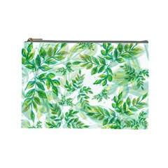 Tiny Tree Branches Cosmetic Bag (large)