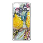 Lovers  by Madzinga Art Apple iPhone 8 Seamless Case (White)