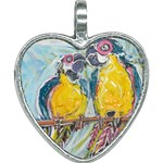 Lovers  by Madzinga Art Heart Necklace