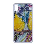 Lovers  by Madzinga Art Apple iPhone XR Seamless Case (White)