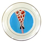 Mother s Love  by Madzinga Art Porcelain Plate