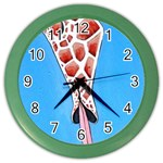 Mother s Love  by Madzinga Art Color Wall Clock