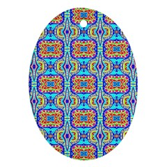 Ml 133 1 Oval Ornament (two Sides)