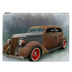 Auto Old Car Automotive Retro Cosmetic Bag (xxl) by Sudhe