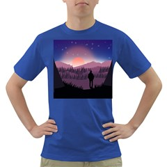 Dusk Sunset Dawn Sky Evening Dark T-shirt