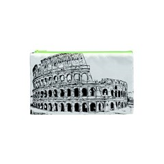 Line Art Architecture Cosmetic Bag (xs)