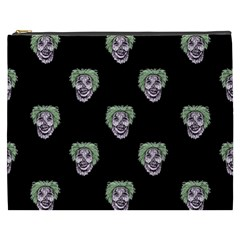Creepy Zombies Motif Pattern Illustration Cosmetic Bag (xxxl) by dflcprintsclothing