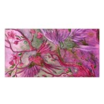 Collection: Acquerello<br>Print Design: Scents of Spring - Rosa<br>Style: Satin Shawl