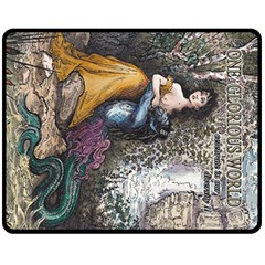 One Glorious World, Celebrate In Our Diversity - Quoters - By Larenard Studios Double Sided Fleece Blanket (medium)  by LaRenard