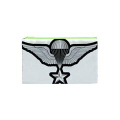 Iranian Army Parachutist 3rd Class Badge Cosmetic Bag (xs) by abbeyz71