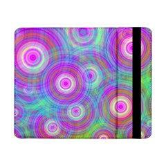 Circle Colorful Pattern Background Samsung Galaxy Tab Pro 8 4  Flip Case by HermanTelo