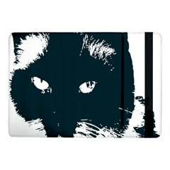 Cat Nature Design Animal Skin Black Samsung Galaxy Tab Pro 10 1  Flip Case by HermanTelo