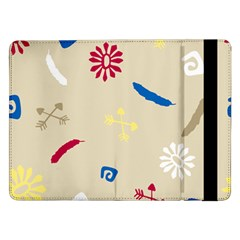 Pattern Culture Tribe American Samsung Galaxy Tab Pro 12 2  Flip Case by HermanTelo