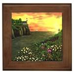 Eddie s Sunset Framed Tile