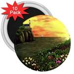 Eddie s Sunset 3  Magnet (10 pack)