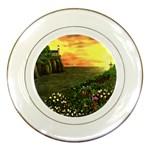 Eddie s Sunset Porcelain Plate