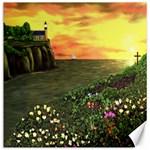 Eddie s Sunset Canvas 12  x 12