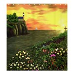 Eddie s Sunset Shower Curtain 66  x 72  (Large)