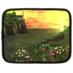 Eddie s Sunset Netbook Case (XL)