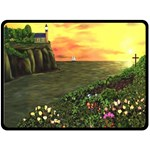 Eddie s Sunset Fleece Blanket (Large)