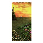 Eddie s Sunset Shower Curtain 36  x 72  (Stall)