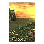 Eddie s Sunset Shower Curtain 48  x 72  (Small)