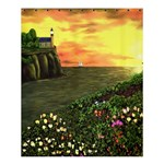 Eddie s Sunset Shower Curtain 60  x 72  (Medium)