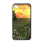 Eddie s Sunset iPhone 4 Case (Black)