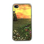 Eddie s Sunset iPhone 4 Case (Clear)