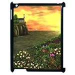 Eddie s Sunset Apple iPad 2 Case (Black)