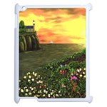Eddie s Sunset Apple iPad 2 Case (White)