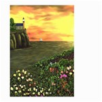 Eddie s Sunset Large Garden Flag (Two Sides)