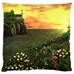 Eddie s Sunset Large Cushion Case (One Side)
