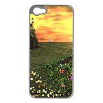 Eddie s Sunset iPhone 5 Case (Silver)