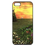 Eddie s Sunset iPhone 5 Seamless Case (Black)