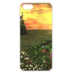 Eddie s Sunset iPhone 5 Seamless Case (White)