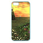Eddie s Sunset Apple Seamless iPhone 5 Case (Color)