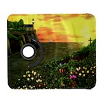 Eddie s Sunset Samsung Galaxy S  III Flip 360 Case
