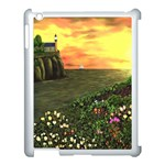 Eddie s Sunset Apple iPad 3/4 Case (White)