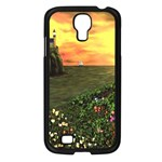 Eddie s Sunset Samsung Galaxy S4 I9500/ I9505 Case (Black)